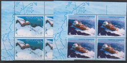Argentina 1996 Antarctica 2v Bl Of 4 (corner)  ** Mnh (39704) - Postzegels