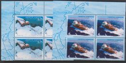 Argentina 1996 Antarctica 2v Bl Of 4 (corner)  ** Mnh (39704) - Zonder Classificatie
