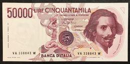 50000 Lire Gian Lorenzo Bernini I° Tipo Serie A 1984 Qfds/fds LOTTO 2113 - [ 2] 1946-… : République
