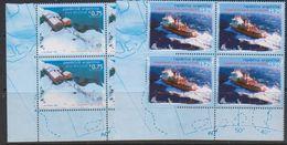 Argentina 1996 Antarctica 2v Bl Of 4 (corner)  ** Mnh (39704A) - Postzegels