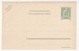 Austria - Czech Postal Stationery Korrespondenz-karte Korespondenční Lístek Unused B180725 - Interi Postali