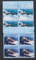 Argentina 1996 Antarctica 2v Bl Of 4  ** Mnh (39704C) - Postzegels