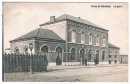 Camp De Beverloo - La Gare 1910 (Geanimeerd) - Leopoldsburg
