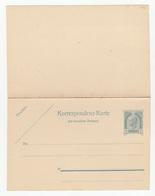 Austria Postal Stationery Postal Card With Reply Korrespondenz-Karte Mit Bezahlter Antwort Unused B180725 - Interi Postali