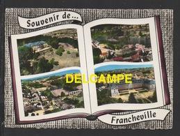 DF / 69 RHÔNE / FRANCHEVILLE / LE CHÂTELARD , VUE PANORAMIQUE, LES AQUEDUCS, SÉMINAIRE ST-IRÉNÉE / CIRCULÉE EN 1963 - Other Municipalities