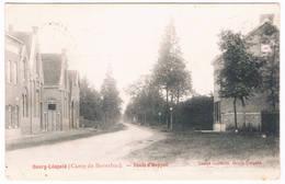Bourg-Léopold - Route D'Heppen 1904  (2 Scan's) - Leopoldsburg