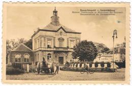 Bourg - Léopold -  Gemeentehuis En Gedenkteeken 1931 (2 Scan's) - Leopoldsburg