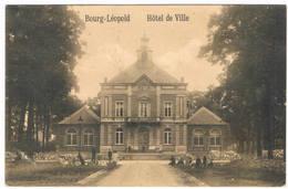 Bourg - Léopold -  Hotel De Ville 1914 (2 Scan's) - Leopoldsburg