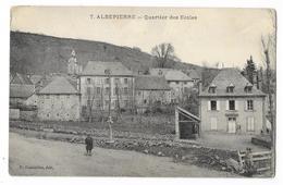 Cpa: 15 ALBEPIERRE (ar. Saint Flour) Quartier Des Ecoles (animée)  1915  N° 7 - France