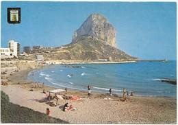 Spain, CALPE (Alicante), Penon De Ifach, Used Postcard [21523] - Alicante