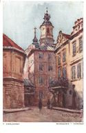 POLSKA - POLAND Postcard - WARSZAWA, Kanonja, ARTIST T. CIESLEWSKI - Polonia