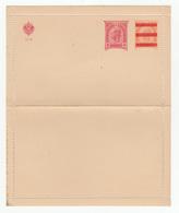 Austria Overprinted Postal Stationery Letter Card Unused B180725 - Interi Postali