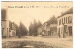 Bourg-Léopold - Avenue Du Camp De Cavalerie 1914 (2 Scan's) - Leopoldsburg