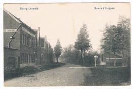 Bourg-Léopold - Route D'Heppen 1909 (2 Scan's) - Leopoldsburg