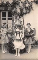 87- LE DORAT-CARTE PHOTO- JEUNES FILLES DEGUISEE - FÊTES 1925 - Le Dorat