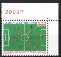 FL+ Liechtenstein 2006 Mi 1411 Mnh Fußball-WM - Liechtenstein