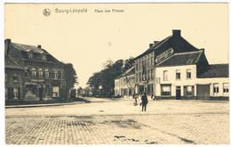 Bourg-Léopold - Place Dés Princes 1920  (Geanimeerd) - Leopoldsburg