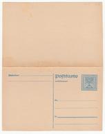 Austria Postal Stationery Postal Card With Reply Postkarte Mit Antwort Unused B180725 - Interi Postali
