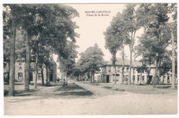 Bourg-Léopold - Place De La Reine 1922  (Geanimeerd) - Leopoldsburg