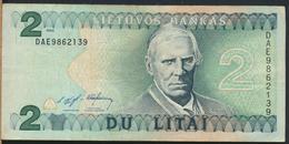 °°° LITHUANIA 2 LITAI 1993 °°° - Lituania