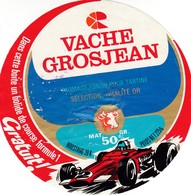 ETIQUETTE FROMAGE FONDU POUR TARTINES -     VACHE GROSJEAN -   JAMBON  225gr  - Jura  39-k - Cheese