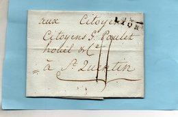 """Linéaire """"68 LYON"""",21,5X9mm,L.A.C. Du 31/1/93 Pour St QUENTIN. - Marcophilie (Lettres)"""