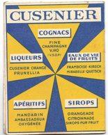 CARCASSONNE Calendrier Publicitaire Café Des Familles G DUBERNAT An 1957 Cognacs Liqueurs Sirops Apéritifs Eaux De Vie - Calendars