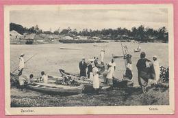 Tanzania - ZANZIBAR - Creek - Bateaux - Passeurs - Tanzanie