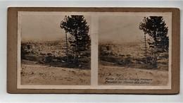 Ancienne CARTE Vue Stéréoscopique Guerre 1914-18 Vallée D'Oulche Juminy Vassogne Parallèle Au Chemin Des Dames - Fotos Estereoscópicas