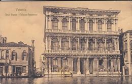 ITALIE---VENEZIA--VENICE--canal Grande--palazzo Rezzonico---voir  2 Scans - Venezia (Venice)