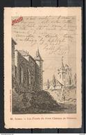 80. Peronne. Les Fossés Du Vieux Chateau. Carte Maggi - Peronne