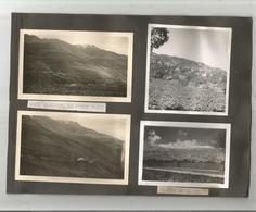 LIBAN 7 PHOTOS ET UNE CARTE POSTALE TIREES D'UN ALBUM 1939 (LE PETIT TRAIN . LA PLAINE DE LA BEKAA ET BAALBECK) - Lieux