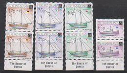 """Falkland Islands 1998 Local Vessels 4v (pair, """"House Of Questa"""") ** Mnh (39705A) - Falklandeilanden"""