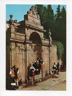 Espagne: Orense, Groupe Folklorique, Fuentes Termales De Las Burgas, Fontaine (18-2140) - Orense