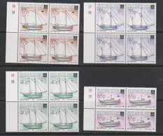 Falkland Islands 1998 Local Vessels 4v Bl Of 4 ** Mnh (39705B) - Falklandeilanden