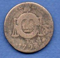 Convention -   Sol Aux Balances  1793 T -- état  B - 1789-1795 Period: Revolution