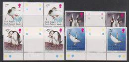 South Georgia 1996 Chinstrap Penguins 4v Gutter  ** Mnh (39706) - Zuid-Georgia