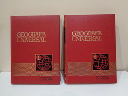 Geografía Universal. Colección Cultura. Ed. Bruguera. 2 Volúmenes (completo). - Aardrijkskunde & Reizen