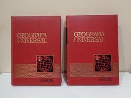 Geografía Universal. Colección Cultura. Ed. Bruguera. 2 Volúmenes (completo). - Geografía Y Viajes