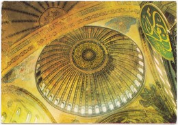 ISTANBUL, Ayasofya, Dome Of St. Sophia, Turkey, 1978 Used Postcard [21544] - Turkey