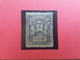 UNGHERIA 1873/74 - Telegrafo 2 Fiorini Nuovo * + Spese Postali - Nuovi