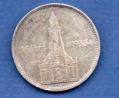 Allemagne  - 5 Reichsmark 1934 E  -  état  TB + - [ 4] 1933-1945 : Third Reich