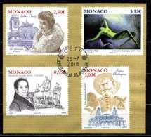 MONACO . Série Arts Du 1er Semestre 2018 Oblitérée   (2692) - Monaco