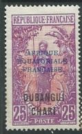 Oubangui   YVERT N°   51 * Ava19610 - Unused Stamps