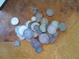 JOLI LOT 50 MONNAIES EN ARGENT -POIDS 257 GRAMMES-  VOIR LISTE ET PHOTOS - Monete & Banconote