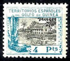 Guinea Española Nº 177 En Nuevo - Guinea Española