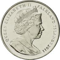 Monnaie, Falkland Islands, Elizabeth II, Crown, 2011, Pobjoy Mint, SPL - Falkland