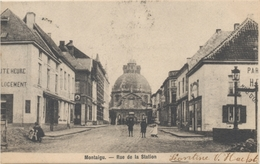 Montaigu - Rue De La Station - 1903 - Scherpenheuvel-Zichem