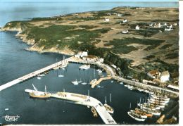 N°63268 GF-cpsm île De Groix Port Tudy Pen Lan Vue Aerienne - Groix