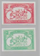 AFGHANISTAN - 1960 - YT N° 494/495 ** NON DENTELES  - - Afghanistan
